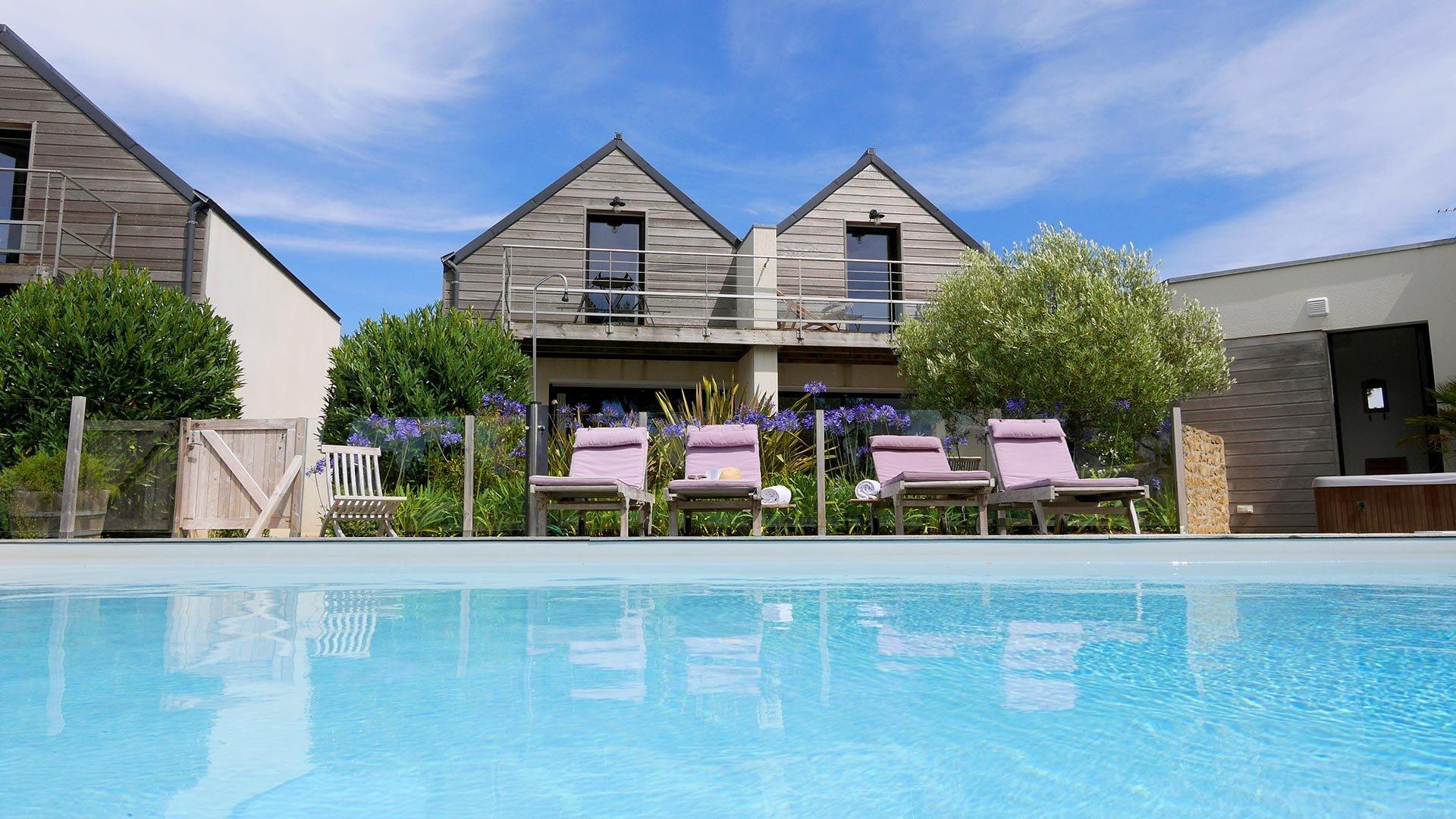 Chambre d 39 h te avec piscine carnac villa mane lann - Chambre d hote quiberon avec piscine ...