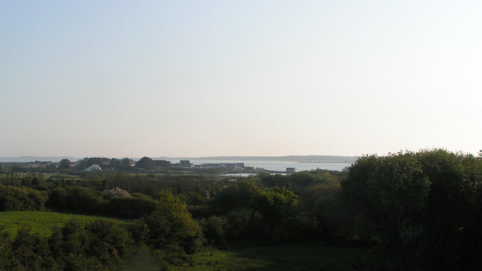 vue mer Anse du pô